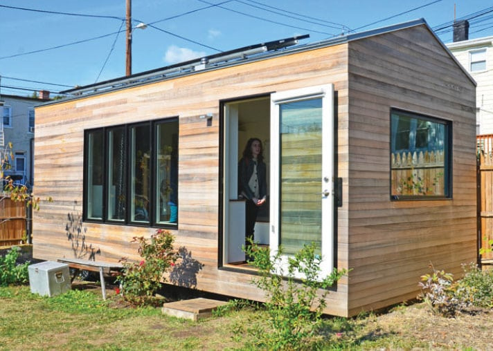 Energy efficiency and the tiny house movement