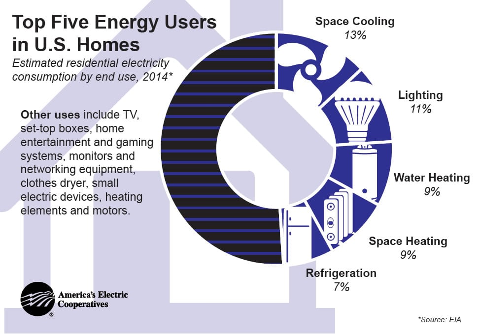 Top Five Energy Users
