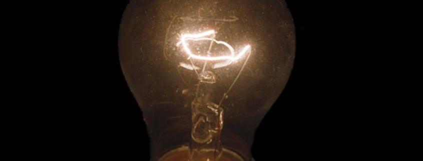 Light bulb –Flickr user nikonfilm35 via Creative Commons