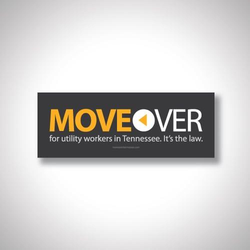 Move over bumper sticker